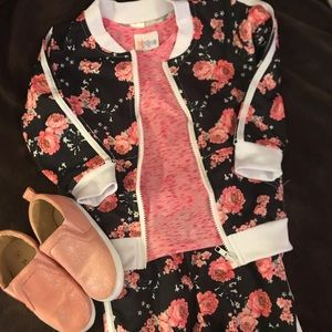 Other - Girl's Floral Tracksuit